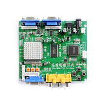 2016 Arcade Game RGB/CGA/EGA/YUV to VGA Video Converter HD with dual output GBS-8220 Hot green board