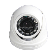 Small Security CCTV Dome Camera LED IR for Taxi and Car