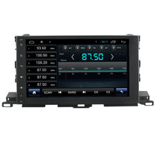 For 1024*600 android Toyota Highlander 2015Car radio gps with Built-in WiFi/GPS Navi/FM/AM Radio/Bluetooth/Multimedia/USB/SD/AUX