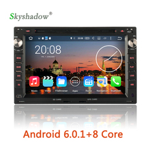 Android 6.0 Octa Core 2G RAM Car DVD Player GPS RDS Radio For Volkswagen BORA POLO PASSAT B5 SHARAN JETTA LUPO TRANSPORTER IBIZA