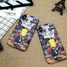Cartoon boy AIR jordan Shoes case iphone X XS MAX XR 10 8 7 6 6S plus matte Soft silicone phone cover case coque fundas capa