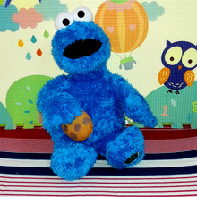 Free Shipping High quality 70cm Sesame Street Cookie Monster  Plush Toys