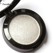 FOCALLURE 10 Colors Baked Eyeshadow Eye shadow Palette in Shimmer Metallic Eyes Makeup