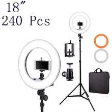 Fotopal China Electronics Market 4800LM LED Fill Ring Light Rings Annular Lamp Video Selfie Light Tripods/Stand Bags Phone Photo
