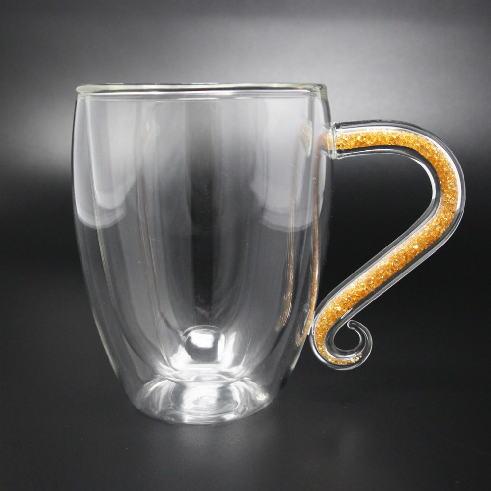 double wall glass coffee mug (1)