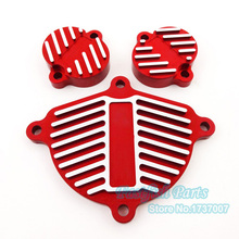 Red YX 150cc 1P60FMJ Engine Cam Cover Valve Cap For Pit Dirt Bikes Dress Up Kit Motorcycle Motoparts Parts(China)
