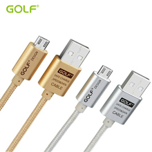 GOLF Micro USB Data Sync Charger Cable For XIAOMI 2S/4 SAMSUNG S6 S7 HTC SONY LG G3 G4 Android Phone Fast Charging Wire 1M 2M 3M