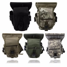 Drop Leg Bag Waist Fanny Pack Belt Hip Bum Men Messenger Shoulder Bags Military Utility Thigh Pouch Bicycle Motorcycle Travel(China)