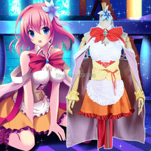Customized Fashion Anime No Game No Life Cosplay Clothes Stephanie Dora Cosplay Costume(China)