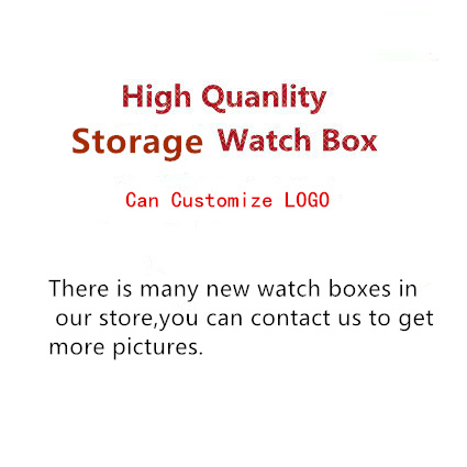 There is Many Luxury Watch Cases In Our Store Watch Storage Boxes And Gift Boxes Case Can Customize Logo<br>