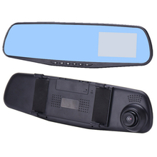 "DVR Auto Tachograph 2.8"" LCD Rearview Mirror DVR HD Camera Camcorder Video Recorder"