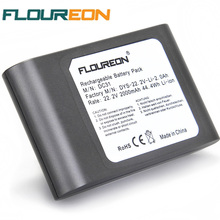 FLOUREON 22.2V 2000mAh Rechargeable Battery 6-Cell for Dyson DC31 DC34 DC35 17083 Handheld Li-ion Vacuum Cleaner Battery(China)