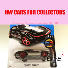2016 Toy cars Hot Wheels 1:64 black stingray Car Models Metal Diecast Cars Collection Kids Toys Vehicle For Children(China)