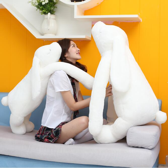 1pcs 90cm big size Korea long arms cute Rabbit plush toy doll creative nap sleep big pillow lover gift female rabbits<br>