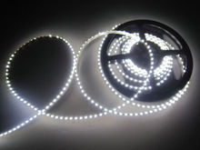 16.4FT 335SMD LED Strip Side emitting 5M 600leds 120Leds/M Side view IP65 Waterproof 12V F/club stair/cabinet Backlighting-White(China)