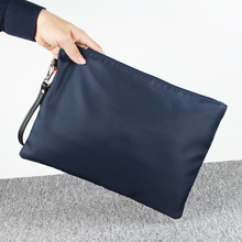 Oxford Waterproof Men Clutch Bags Large Capacity Day Clutches for Male Black High Quality Soft Messenger Bag New Style 2017
