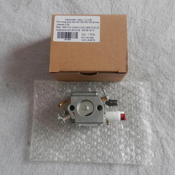 REPLACEMENT CARBURETOR ASY FITS  JONSERED 2150 CHAINSAW   GASOLINE CARB PETROL  CHIAN SAW PARTS C3-EL32<br>