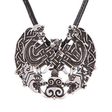 Norse Viking Amulet Pendant Necklace God Knotwork Male and Female Balance Amulet Norse Vikings Nordic Talisman Jewelry(China)