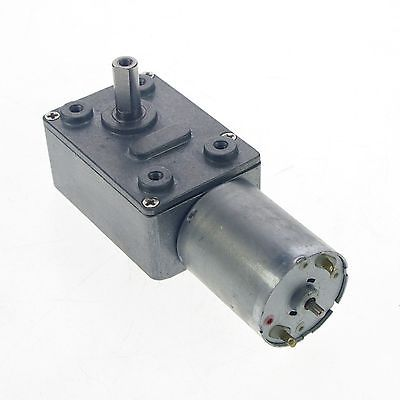 2pcs 12V 3RPM Square Geared Gearhead DC Motor High Torque Output Heavy Duty<br>