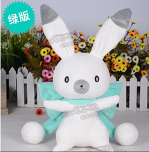 VOCALOID miku Snow Bell bunny rabbit green doll lovely toy cosplay accessory birthday gift Free Shipping(China)