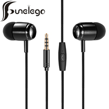 Funelego Newest Sport Music Earphones For Mobile Phone Stereo Earbuds With Microphone Heavy Bass Lossless Audio In-Ear Earphone
