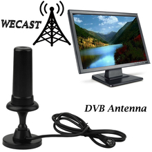 Indoor DVB Antenna TV Antenna Hot for TW36 36DB 36dbi TV Stick HD TV Scout TV Fox Type HDTV Antenna for DVB-T DVB HDTV PC Laptop(China)