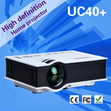 Toys gifts projector beamer UC40/UC40+ mini led lcd HD1080P 800*480 1200lumens big screen PC laptop phones Xbox TV with HDMI VGA