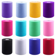 100 Yards Fabric Tulle Rolls Spool for Wedding Decoration Craft DIY Ribbons Home Decoration Accessories Arts Crafts Sewing