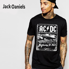 Buy ACDC Rock T-Shirts Summer 2016 Fashion Short Sleeve Men's Brand Clothes Hip Hop Slim Fit Tshirt Homme Cotton T Shirt Men Tees for $7.83 in AliExpress store
