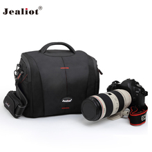 2017 Jealiot waterproof Camera bag shoulder bag lens case digital camera Video Photo fit for Canon Nikon DSLR free shipping(China)