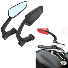 Universal Motorcycle Mirrors Scooter Rearview Rear View Side Classic Cafe Racer Bike Mirror For Kawasaki z750 Suzuki Yamaha R1