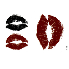 Lips temporary tattoo sticker bloody sexo tatoo sticker car styling tatuagem harajuku henna tattoo sleeves sexy products praia(China)