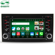"Android 6.0 Octa Core 2 Din 7"" Car DVD GPS For Audi A4 2002-2008 S4 RS4 8E 8F B9 B7 RNS-E 2 Din DVD A4 Navigation Stereo Radio"