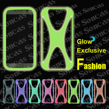 Newest Fashion Silicon Soft Universal Bumper Cool Glow Phone Case For MTC Smart Sprint 4G + Free Gift