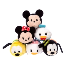TSUM TSUM Classical Mickey Mouse Minnie Pluto Goofy Donald Duck Daisy Plush Toy Kids Birthday Christmas Gift Phone Creamer