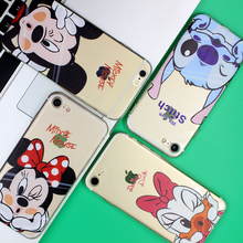 Minnie Mickey For Apple iPhone 4 4S 5 5S 5C SE 6 6S 7 Plus Case For Xiaomi Redmi 4 4A 3S 3 S 4X Note 3 4 Pro Prime 4X