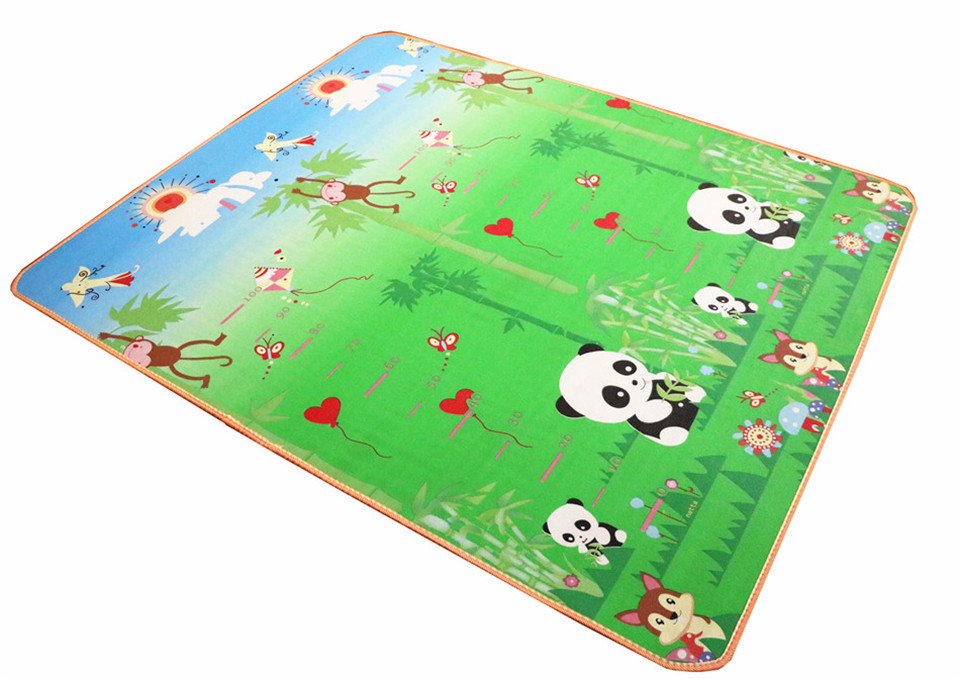 10 mm Thick Double Sides Children Play Mat Waterproof Kids Beach Picnic Mat Soft Eva Foam Carpet Rug Baby Crawling Mat Baby Toy 49