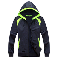 2017 new man 103 with hat fluorescent green clothes light board soccer sweatshirt sportswear adult long sleeve suit uniform