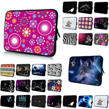 Zipper 7 10 12 13 14 15 17 inch Laptop Sleeve Bag Neoprene Cover Cases Fashion Computer Accessories Notebook Bags Hot 2016