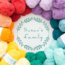 50 Kinds Of Color Baby combed cotton yarn Hand crochet diy weave sweater scarf cotton baby cotton coarse hair line 50g/pcs