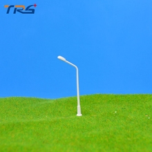 Teraysun 200 Pcs/Lot Layout Streets Lamp Model Scale 1:500 Plastic Model Light Lamppost Model Railway Street Light