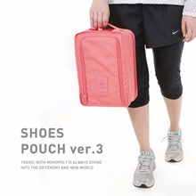 Waterproof  Shoe Bag Travel Pouch Shoe Storage Bag Bottle Bag Toiletries Laundry Pouch 3colors 99