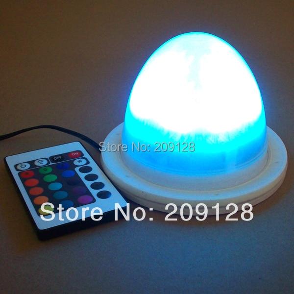 11.7cm RGB remote control rechargeable colors change led light lamp VC-L117<br>
