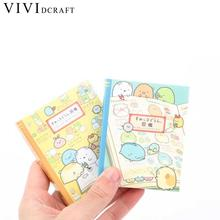 Vividcraft 1pc Korean Stationery Cartoon Animals World Sticky Notes Kawaii Pepeleria Post It Nota De Papel Stickers Scrapbooking(China)