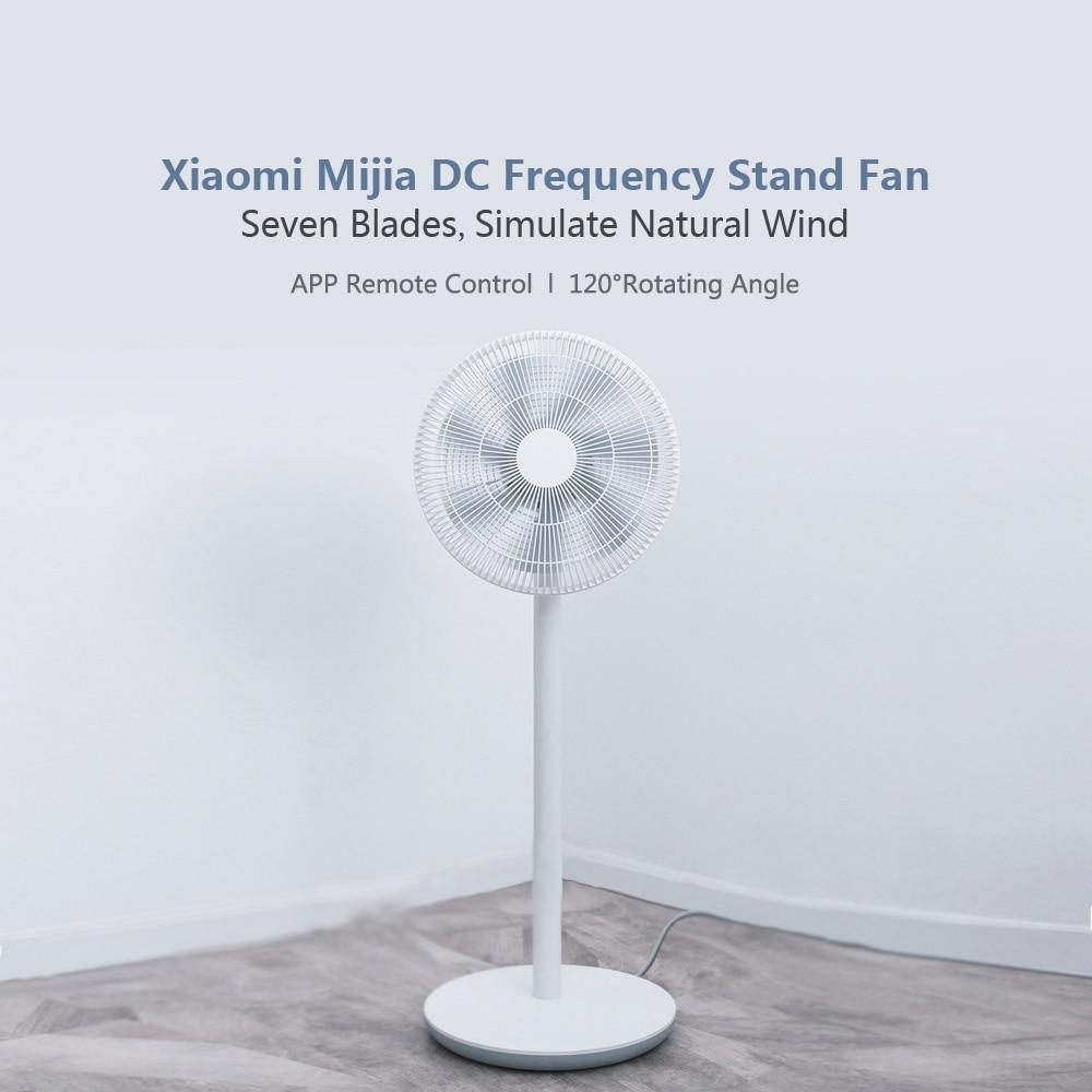 Xiaomi Mijia DC Frequency Standing Fan Variable Speed Inverter Saving Electricity Smart Floor Fan Intelligent Mute APP Control