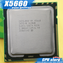 Intel Xeon X5660 CPU processor /2.8GHz /LGA1366/12MB L3 Cache/Six Core/ server CPU Free Shipping piece ,there are, sell X5650(China)