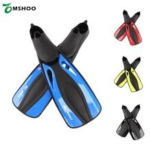 Adult Flexible Comfort Swimming Fins Submersible Long Swimming Snorkeling Foot Profession Diving Fins Flippers Water Sports(China)