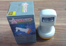 STARCOM SR-1000 Best Signal digital HD Universal KU Band Single LNB  High Gain Low noise satellite Dish LNB