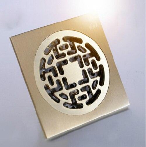 Classic Antique Bronze Bathroom Accessory T Floor Drain<br><br>Aliexpress