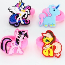 10pcs isnice Monocerus different styles Hair band Headwear girl Hair accessories Children Christmas Gift birthday Ornament